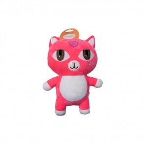 Dog toy pink cat 26 cm