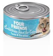 FourFriends Burkmat Tuna & Sardine 85 g