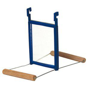 Spegelgunga trä Akita 15x7x10cm