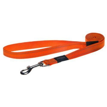 ROGZ UTILITY KOPPEL ORANGE 20MM 180CM
