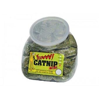 Yeowww catnip minipåsar