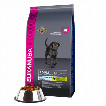 EUK DOG AD LARGE NORM ACT 15 KG