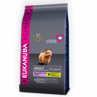 EUK DOG AD SMALL NORM ACT 3 KG