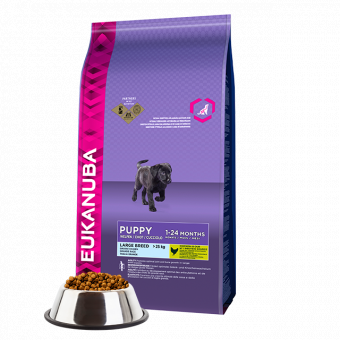 Euk Dog Puppy Large 15 KG
