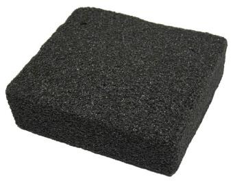 Ryktsten grå lätt 9,5x9x2,5cm