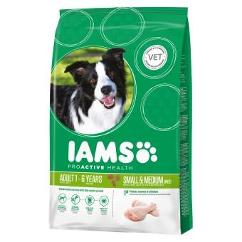 **IAMS DOG** ADULT S&M 12 KG