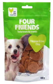 FFD Chicken & Liver Chip 100 g