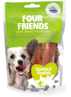 FourFriends Godis FFD Chicken N' Rawhide 100g