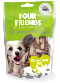 FourFriends Godis FFD Chicken Twist Bite 400g