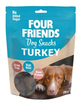 Dog Snacks Turkey 200g