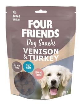 Dog Snacks Venison & Turkey 200g