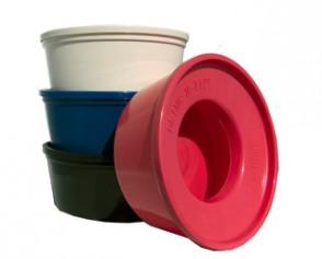 Non-Splash skål plast