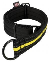 Fusion Sporting halvstryp, S-M: 28-38 cm/35 mm, svart/gul