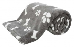 Kenny filt, plysch, 75 × 50 cm, grå