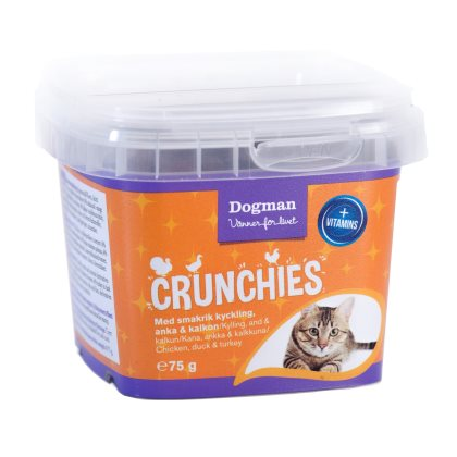 Crunchies fågel 75g
