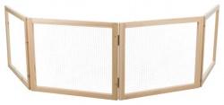 Innehage trä, 4 delar, 60-240 × h50 cm
