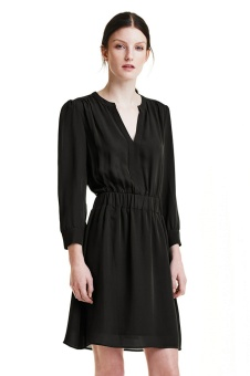 Mona Lee Dress - Black