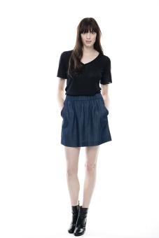 Indigo kjol