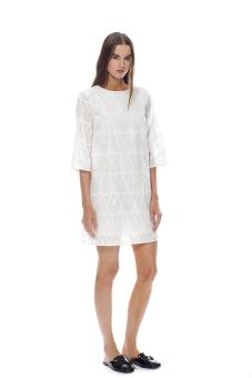 Ivy klänning vit