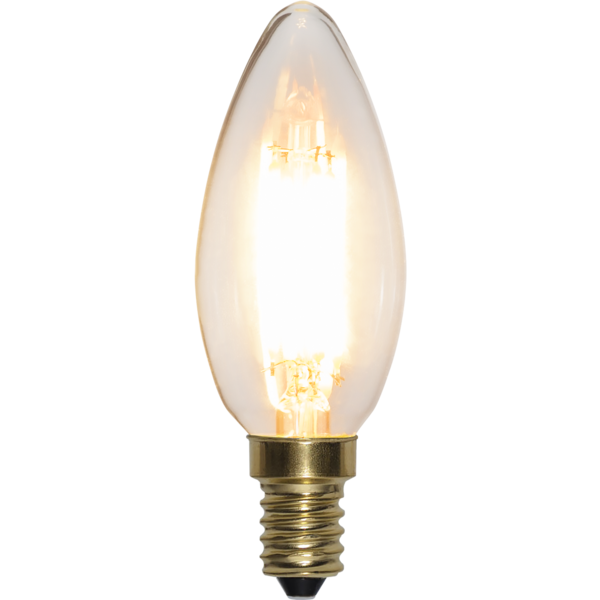 LED-LAMPA E14 C35 SOFT GLOW 3-STEP