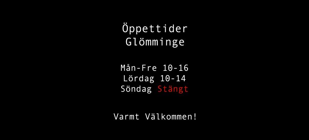 www.alsens.nu Öppettider glömminge
