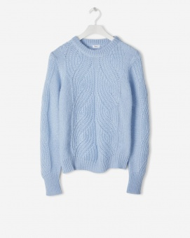 FILIPPA K, Soft Mohair R-Neck