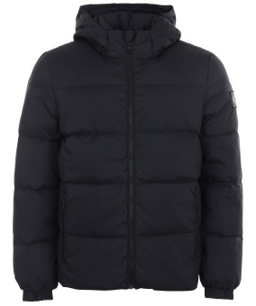 CALVIN KLEIN Hooded down jacka