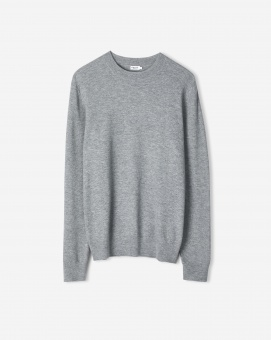 M. Moss Knit R-Neck Sweater