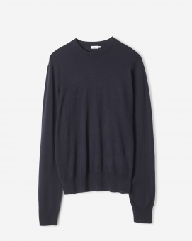 M. Silk Mix Crewneck Sweater
