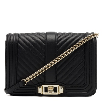 REBECCA MINKOFF Chevron Love crossbody big