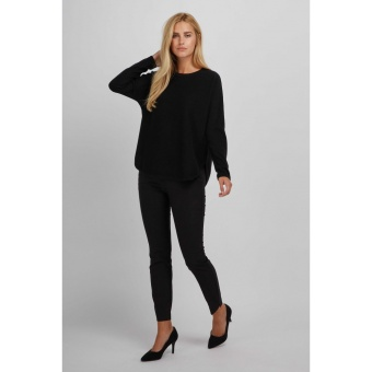 DAVIDA Curved sweater
