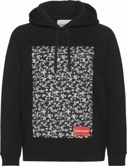 FLORAL BOX RELAXED FIT HOODIE