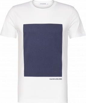 RECTANGLE GRAPHIC SLIM TEE