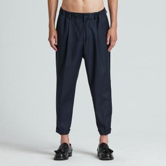 Drop Crotch Drawstring Trouser