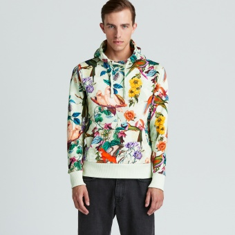 Hood Sweater Printed