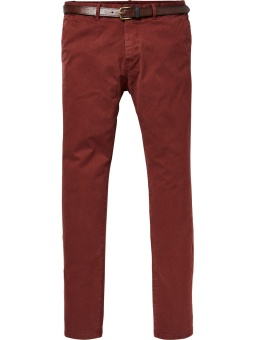 SCOTCH & SODA Stuart - Classic garment-dyed chino