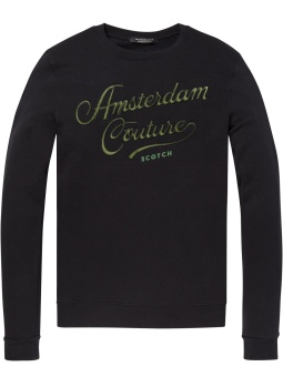 Classic sweat with logo chest artwork