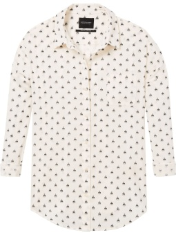 SCOTCH & SODA Boxy Fit Shirt