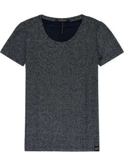SCOTCH & SODA kort ärm lurex top