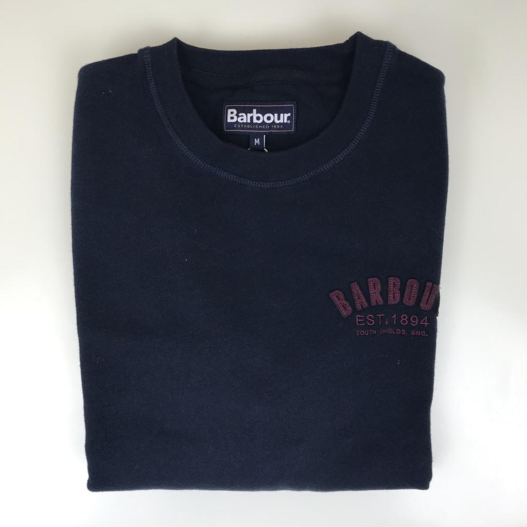 Barbour, preppy crew tröja