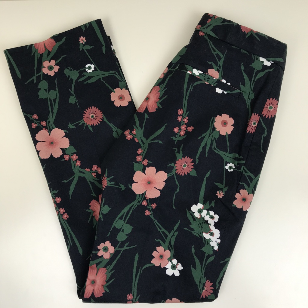 GANT, floral print byxa