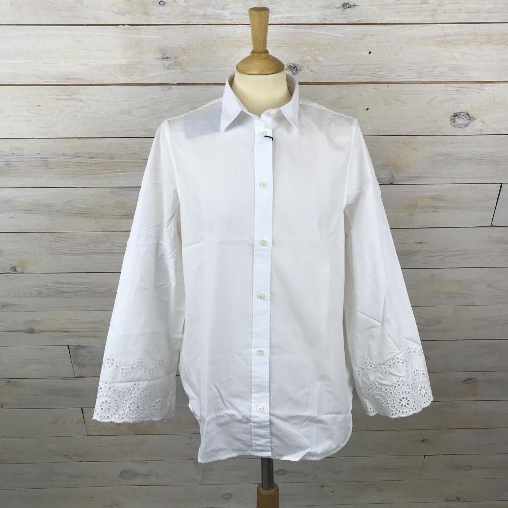 GANT, Broderie anglaise skjorta