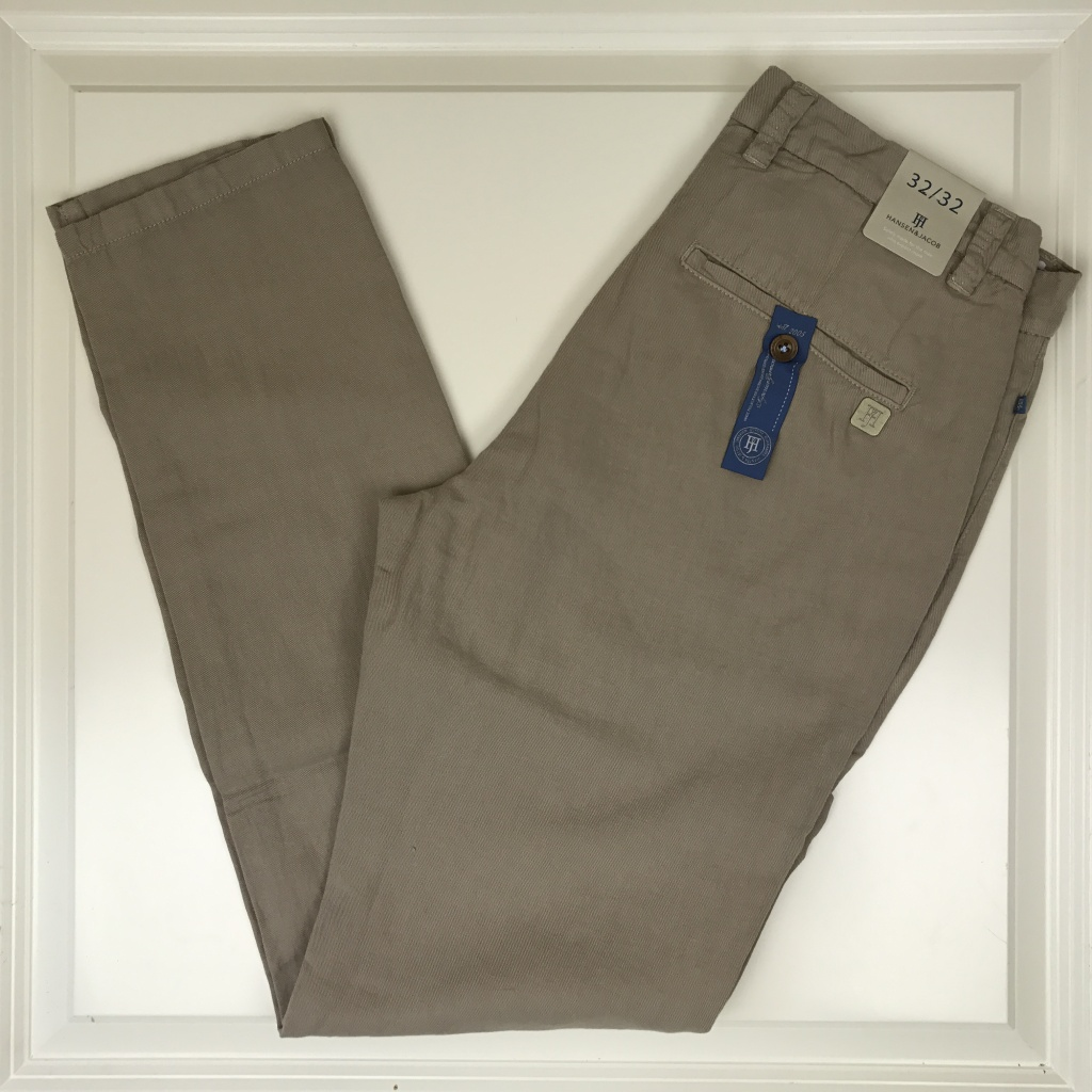 Hansen & Jacob, Cotton linen chino