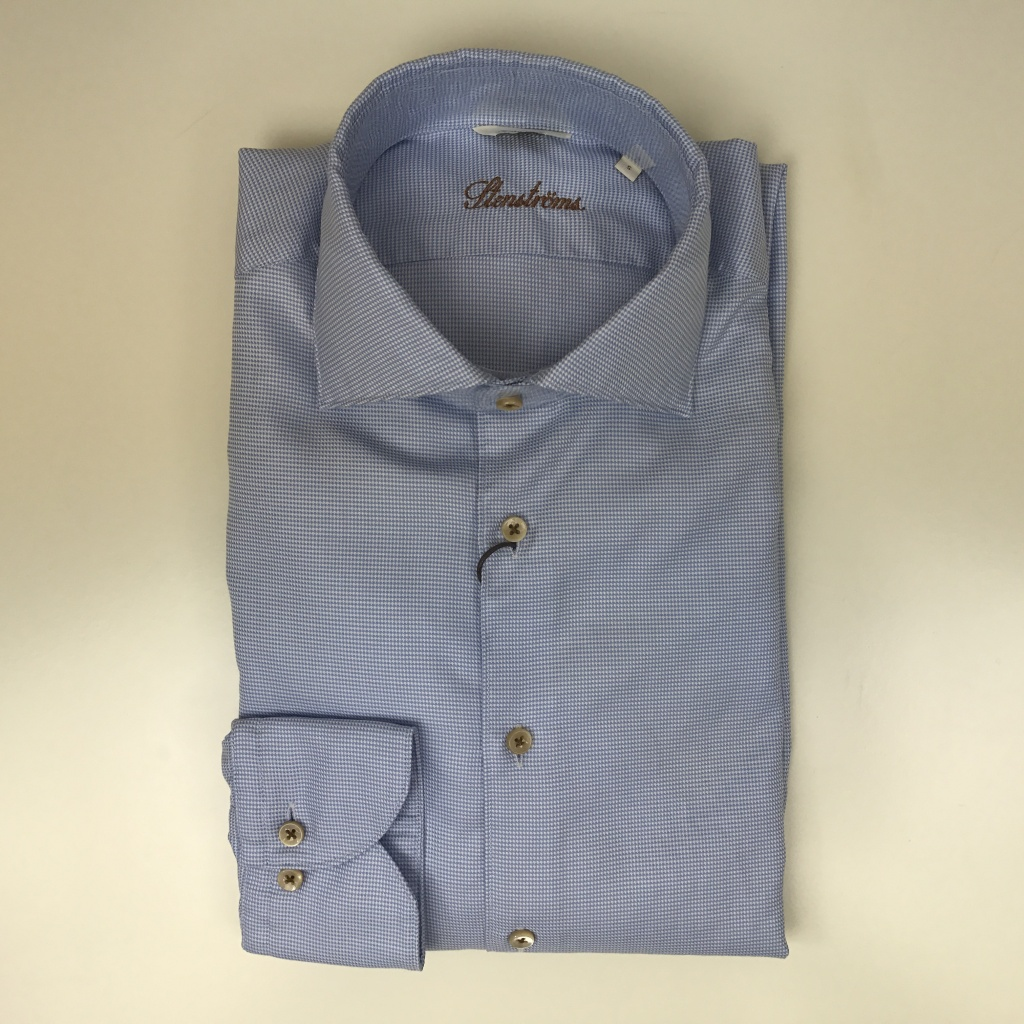 Stenströms, Hounds tooth fitted body shirt