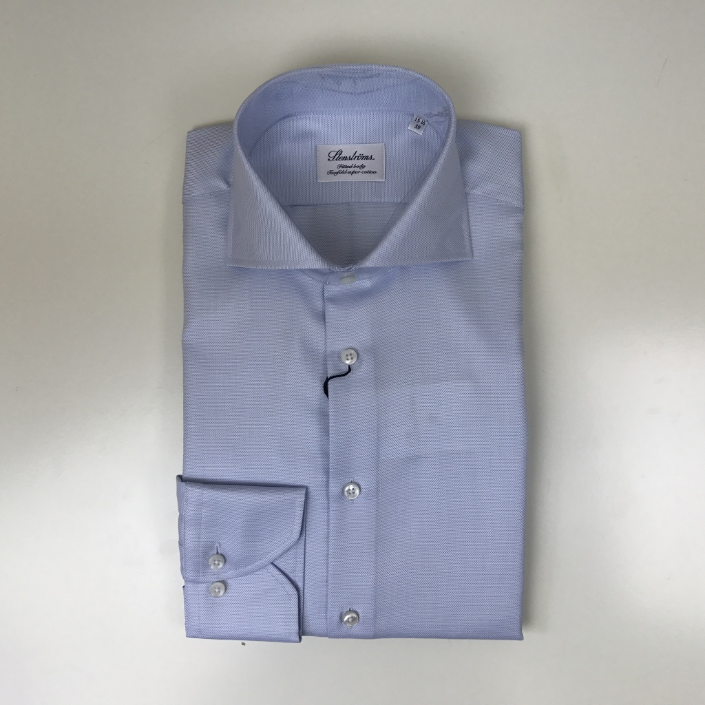 Stenströms, Textured fitted body shirt