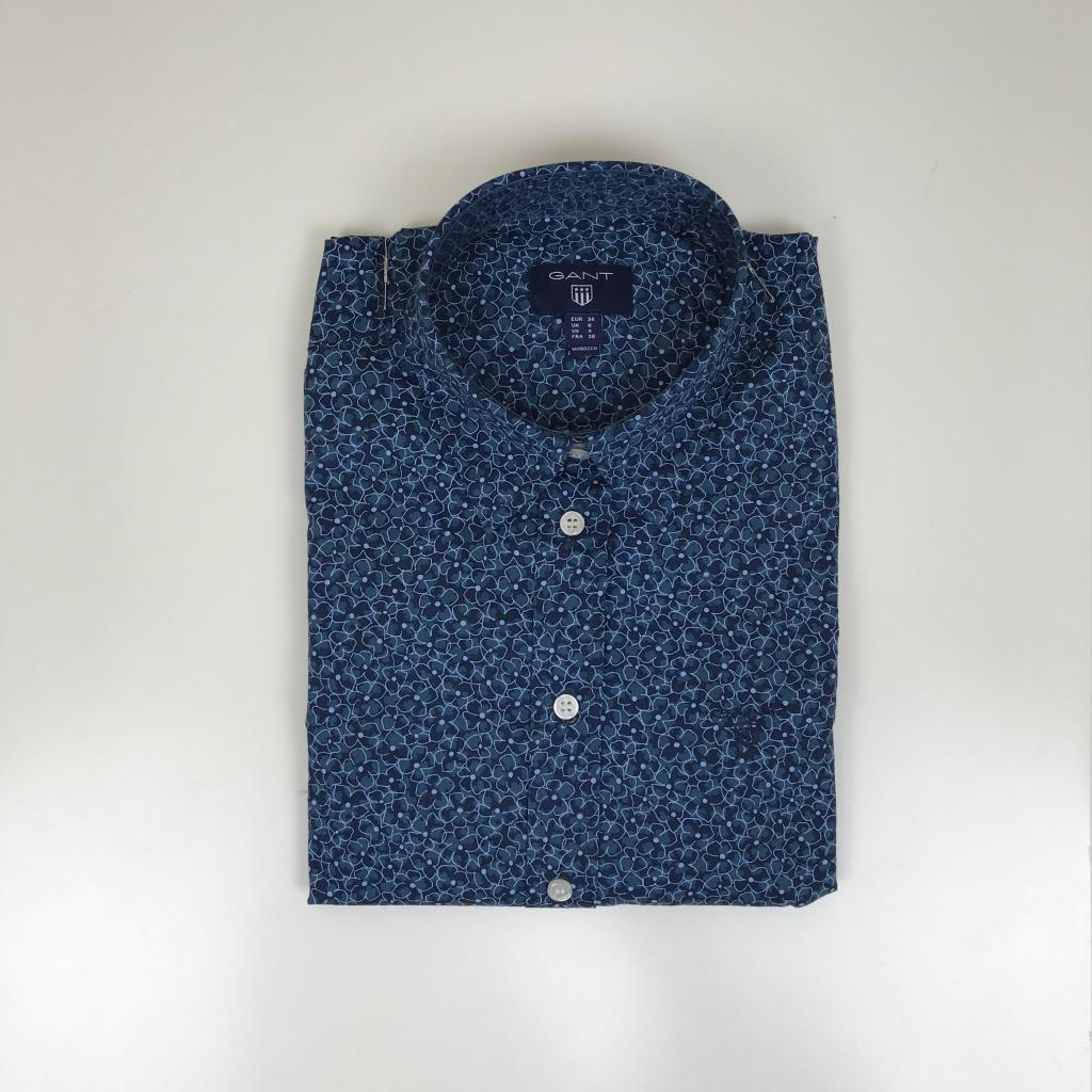 Gant, blommig blus