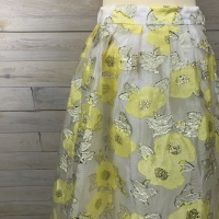 Baum und Pferdgarten, satinka kjol