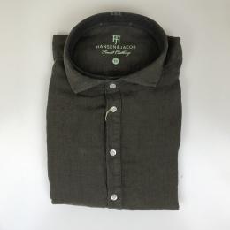 Hansen & Jacob, Short sleeve linen skjorta