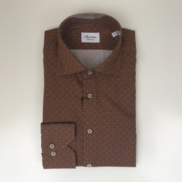 Stenströms, Graphic flower patterned fitted body shirt