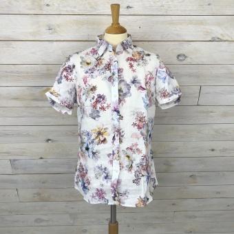 Stenströms, feminine shirt short pleat